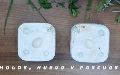 Hacer un molde sencillo para cerámica con forma de huevo
