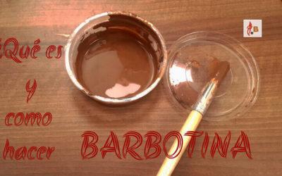 Barbotina ¿Qué es y cómo hacerla?
