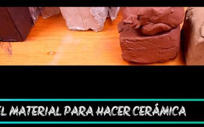 El material para hacer cerámica. Pastas cerámicas
