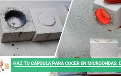 Haz tu cápsula para cocer en microondas (DIY)