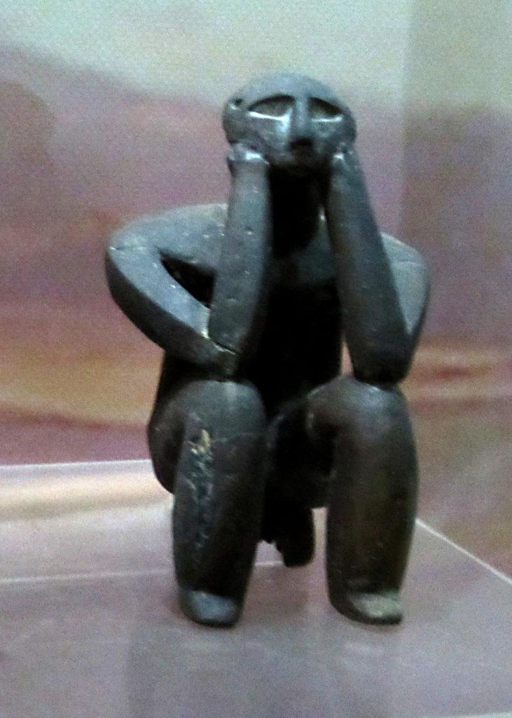 Obra maestra de arte neolítico. El pensador de Cernavoda