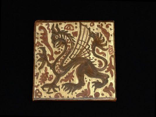 Pintado de un dragón con la técnica del socarrat. Vídeo 7