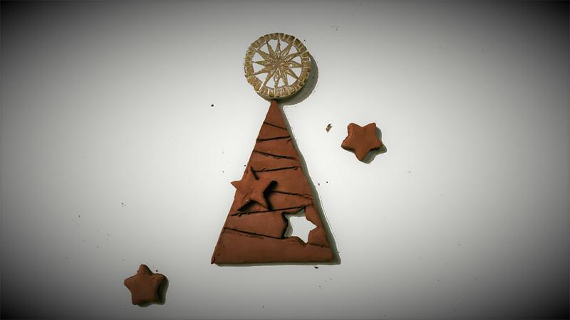 Mis piezas de arcilla para Navidad. Vídeo 32